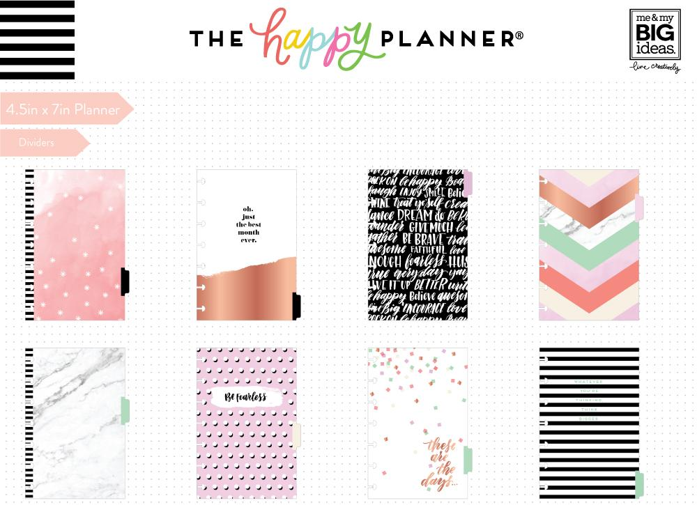 12 Months – UNDATED - MINI Happy Planner® - Lovely Pastels ...