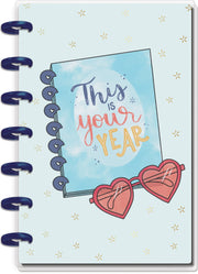 Mini Horizontal Happy Planner® - Real Life  - 12 Months