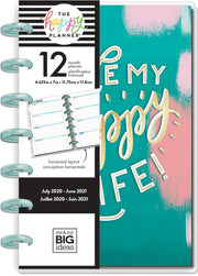 Mini Horizontal Happy Planner® - Happy Life - 12 Months