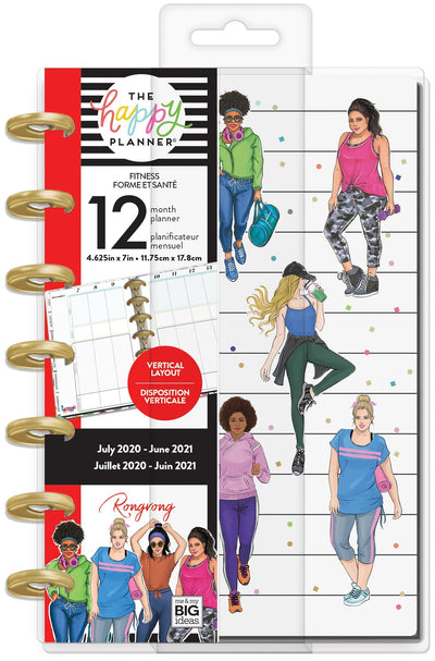Mini Fitness Happy Planner® - Rongrong - 12 Months