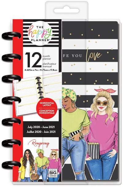 Mini Happy Planner® - Rongrong Plan A Life You Love  - 12 Months