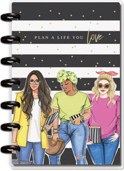 Mini Horizontal Happy Planner® - Rongrong Plan A Life You Love  - 12 Months