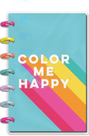 Mini Vertical Happy Planner® - Color Me Happy - 12 Months