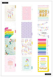 Mini Lined Vertical Happy Planner® - Confetti In The Air Celebrate - 12 Months