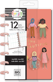 Mini Vertical Happy Planner® - Different Is Beautiful - 12 Months