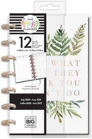 Mini Vertical Happy Planner® - Do What They Think You Can't - 12 Months