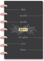 Mini Dashboard Happy Planner® - This World Needs Modern Farmhouse - 12 Months