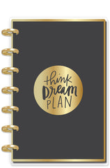 DELUXE Mini Happy Planner® - Think Dream Plan - Goal Getter
