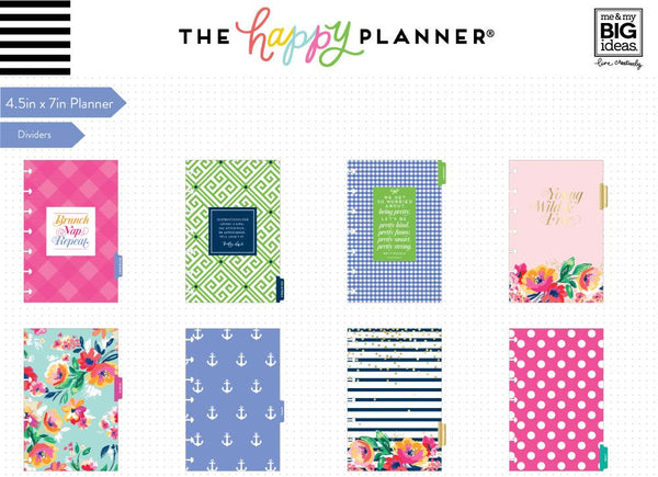 2018 - 2019 Mini Happy Planner® - Garden Party