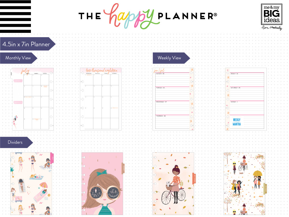 Losing weight with a fresh, fun layout in my fitness planner