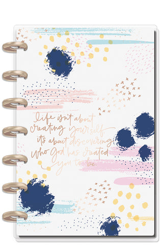 2019 Deluxe Mini 12 Month Planner - Faith Warrior (vertical)