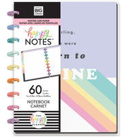 Classic Happy Notes™ - Pastel Rainbow