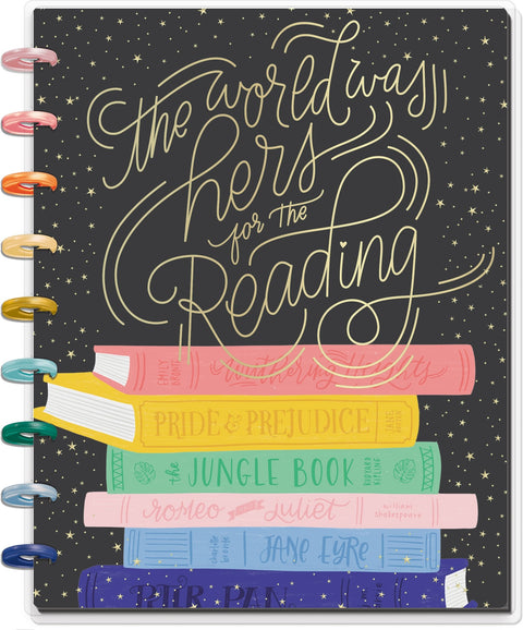 Classic Happy Notes™ - The Bookish World Was Hers