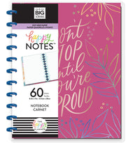 BIG Happy Notes™ - Don't Stop Until You're Proud