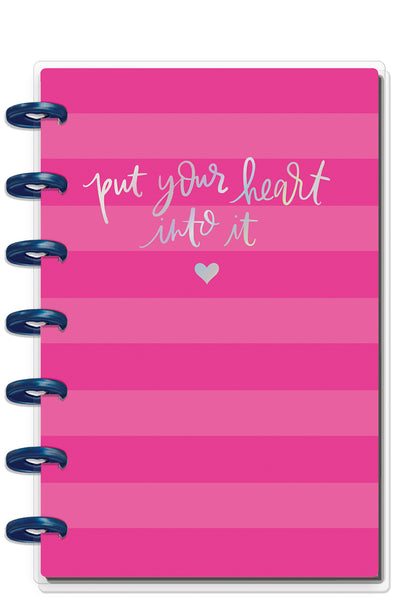 Happy Notes™ - Pink Heart - Mini (dot grid)