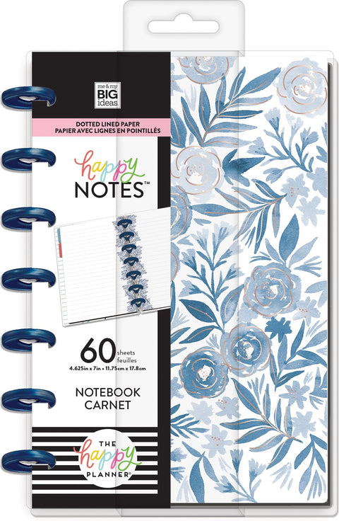 Mini Happy Notes™ - Blue Florals