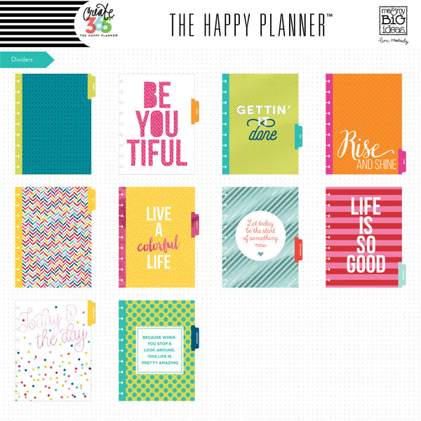 2016-2017 CLASSIC Happy Planner™ - Be Bright