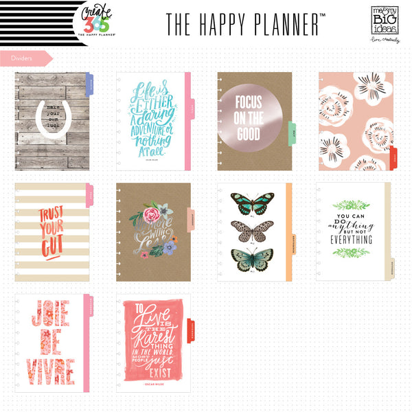 2016-2017 CLASSIC Happy Planner™ - Fresh Floral