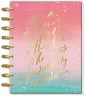 Classic Happy Planner® - Choose To Shine - 18 Months (2019-2020)
