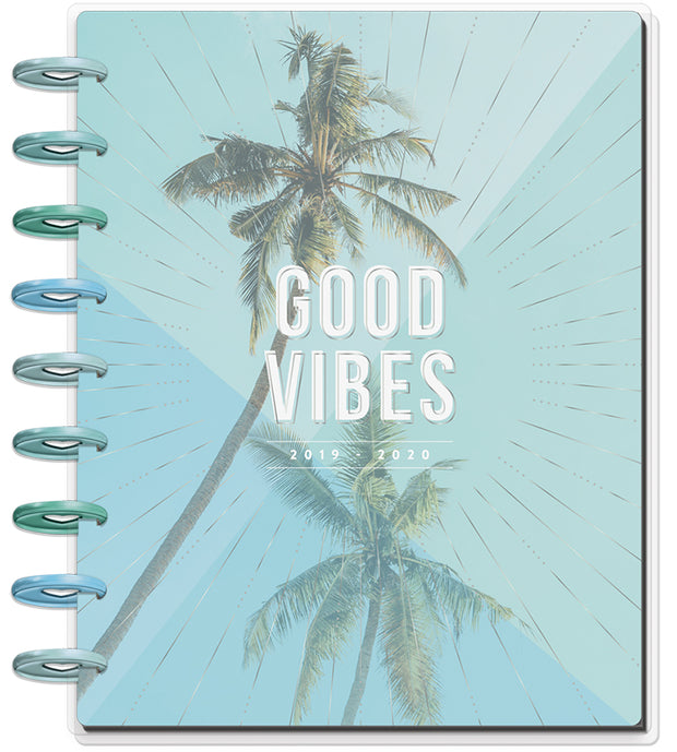 Classic Happy Planner® - Coastal Vibes - 18 Months (2019-2020)