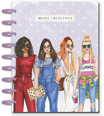 Classic Happy Planner® x Rongrong - Brave & Beautiful - 18 Month (2019-2020)