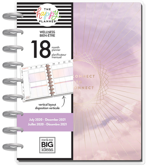 Classic Wellness Happy Planner® - Digital Detox - 18 Months