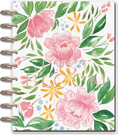 Classic Dashboard Happy Planner® - Detailed Florals - 18 Months