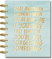 Classic Horizontal Happy Planner® - LOL Quotes - 18 Months