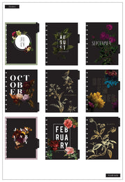 Classic Deluxe Monthly Happy Planner® - Monthly Florals - 18 Months