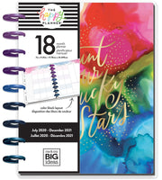Classic Color Blocked Happy Planner® - Ink Splash - 18 Months
