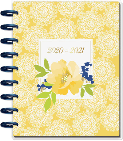 Classic Vertical Hourly Happy Planner® - Pretty Preppy - 18 Months