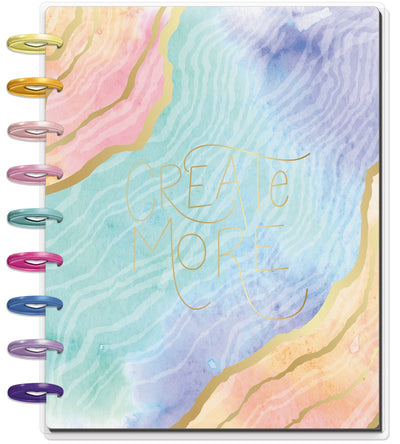 Classic Monthly Happy Planner® - Soft Modern Geode - 18 Months