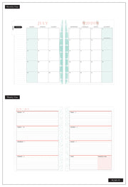 Classic Horizontal Happy Planner® - Rongrong Babes Support Babes - 18 Months