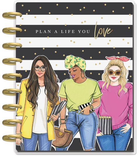 Classic Dashboard Happy Planner® - RongRong Plan A Life You Love  - 18 Months