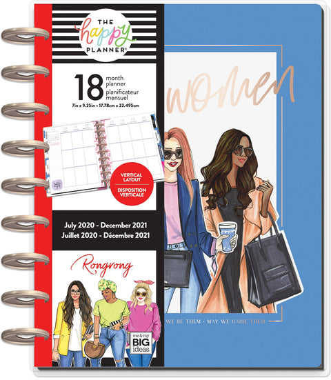 Classic Vertical Happy Planner® - RongRong Kind Women - 18 Months