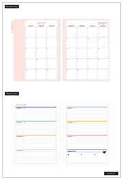 Classic Horizontal Happy Planner® - Bookish - 18 Months