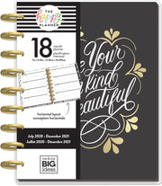 Classic Horizontal Happy Planner® - Be Your Own Beautiful - 18 Months