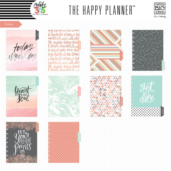2016-2017 CLASSIC Rose Gold Horizontal Happy Planner™