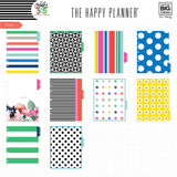 2017-2018 CLASSIC Happy Planner® - Hello Brights / HORIZONTAL