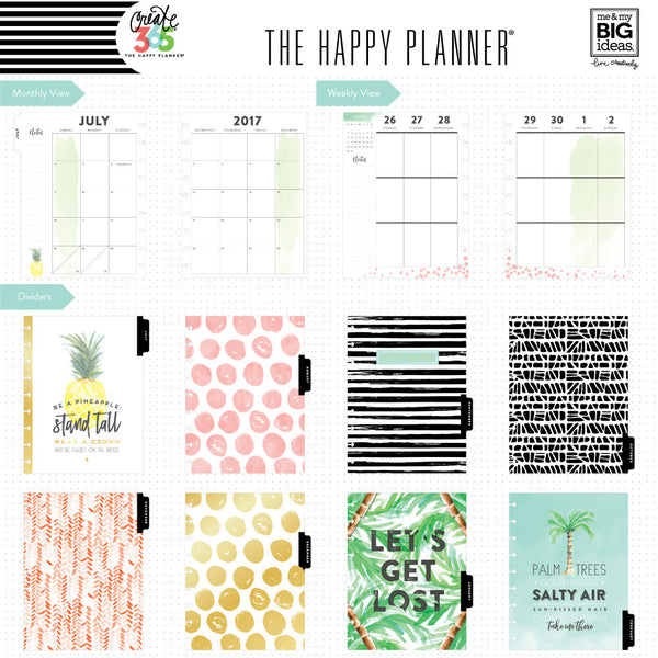 2017-2018 CLASSIC Happy Planner® - Flamingo