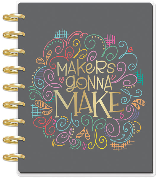 2019 Deluxe Classic 12 Month Planner - Miss Maker (checklist layout)