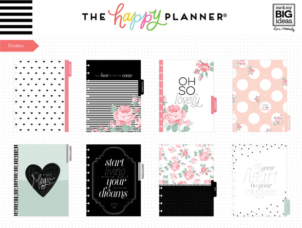 2019 Classic Happy Planner® - Oh So Lovely - 12 Months (2019-2020)