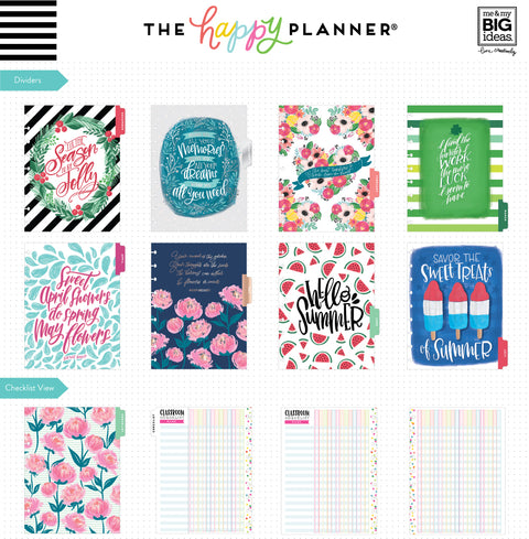 Classic Teacher Happy Planner® - 12 Months (2019-2020)