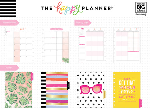 2019 Classic Happy Student Planner® - Shine Bright - 12 Months (2019-2020)