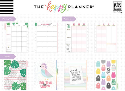 Classic Student Planner - Be True - 12 Months (2019-2020)