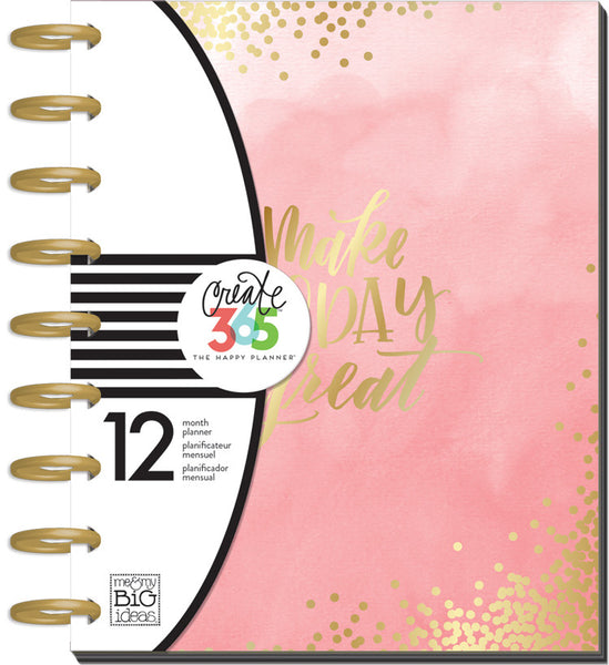12 Months- UNDATED - CLASSIC Happy Planner - Lovely Pastels