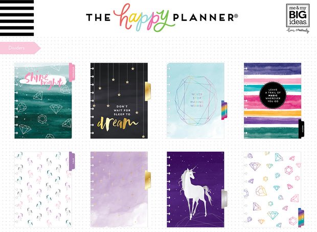 Deluxe Classic Student Planner - She's Magic - 12 Months (2019-2020)