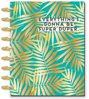 Deluxe Classic Student Planner - Super Duper Teal - 12 Months (2019-2020)
