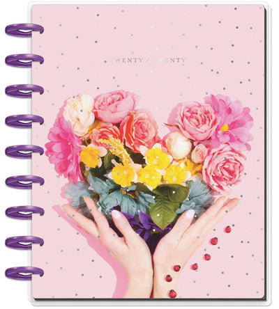 2020 Classic Happy Planner® - Rainbow Floral - 12 Months