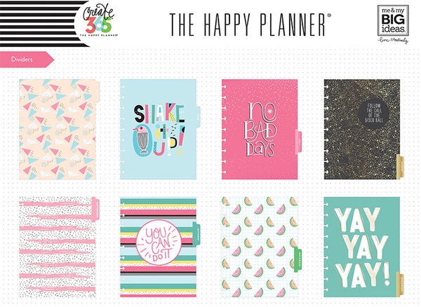 2018 CLASSIC Happy Planner® - Shake It Up